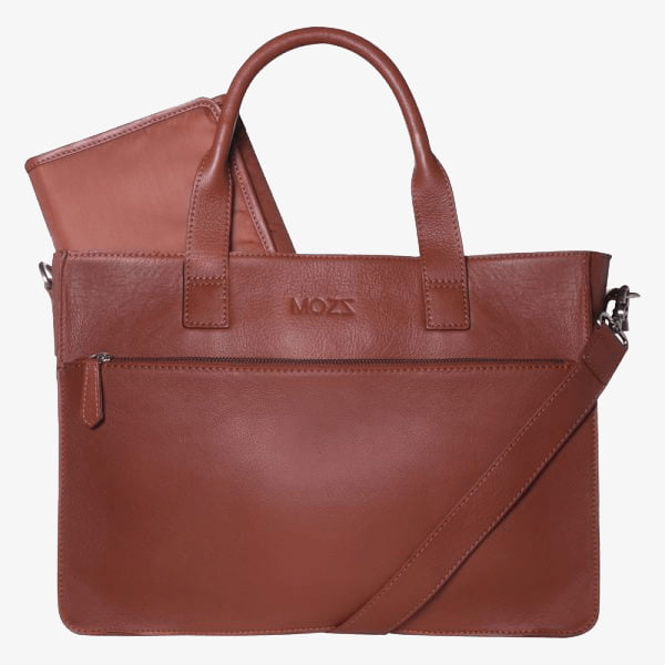 DIAPER BAG COGNAC BELOVED BLAZE