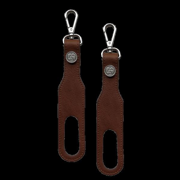 Stroller straps cognac Mozz