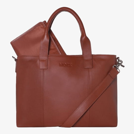 Diaper Bag Cognac Beloved Bliss