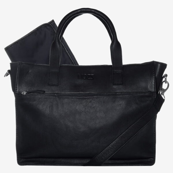 Zwarte Luiertas Mozz Bags
