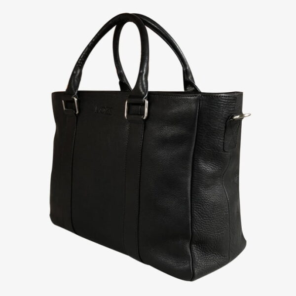 Wickeltasche schwarz