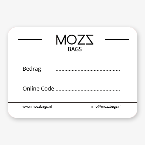 Giftcard Mozz Bags
