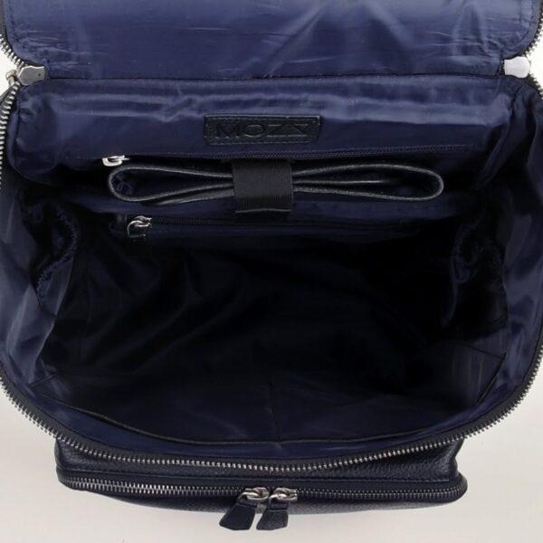 Wickeltasche Rucksack Blau