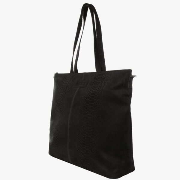 Luiertas zwart snake Mozz Bags