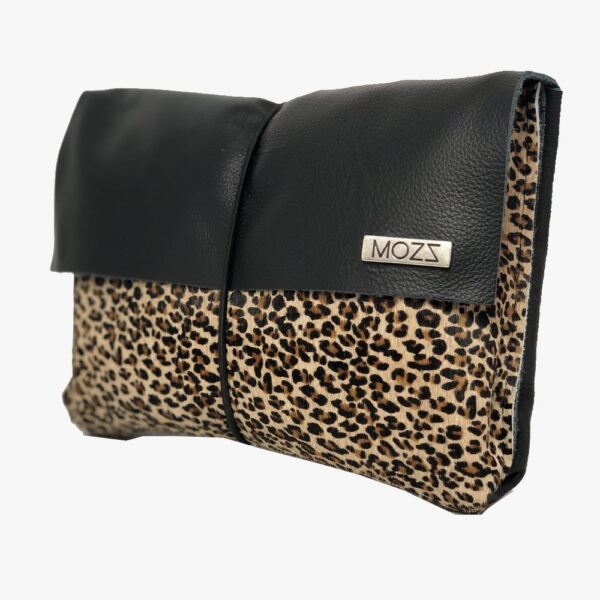 Luier etui met jaguar leer