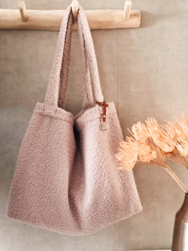 Mom Bag Easy Going Boucle Roze