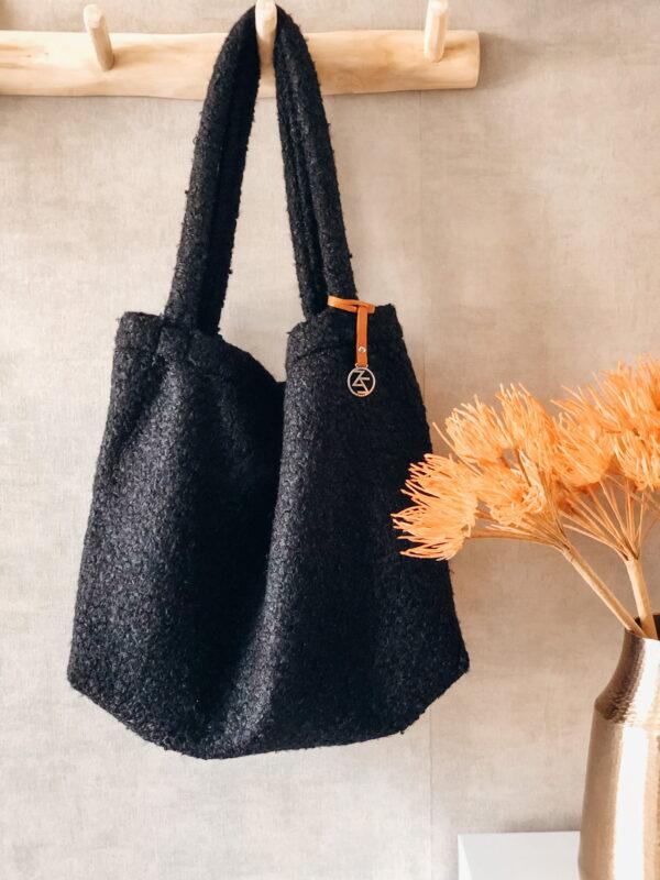 Mom Bag Easy Going Boucle Zwart