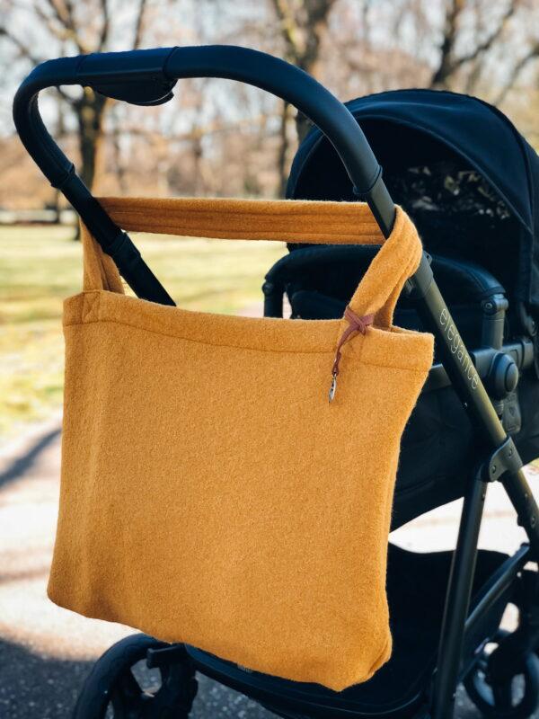Mom Bag Easy Going Wool Oker