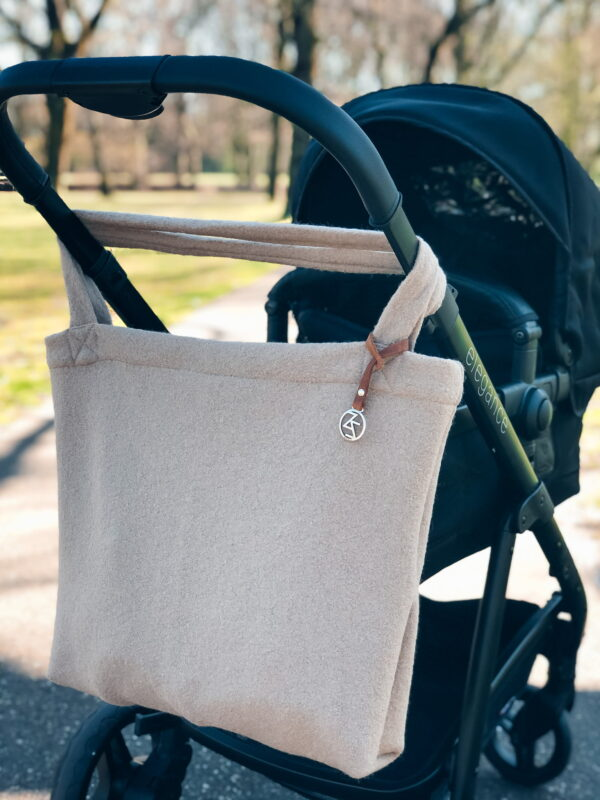 Mom Bag Easy Going Wool Sand