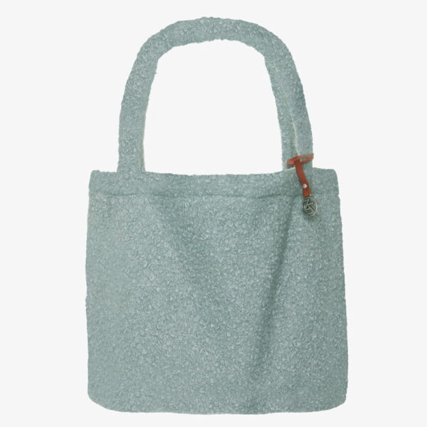 Mom Bag Easy going Tote Bag boucle Mint