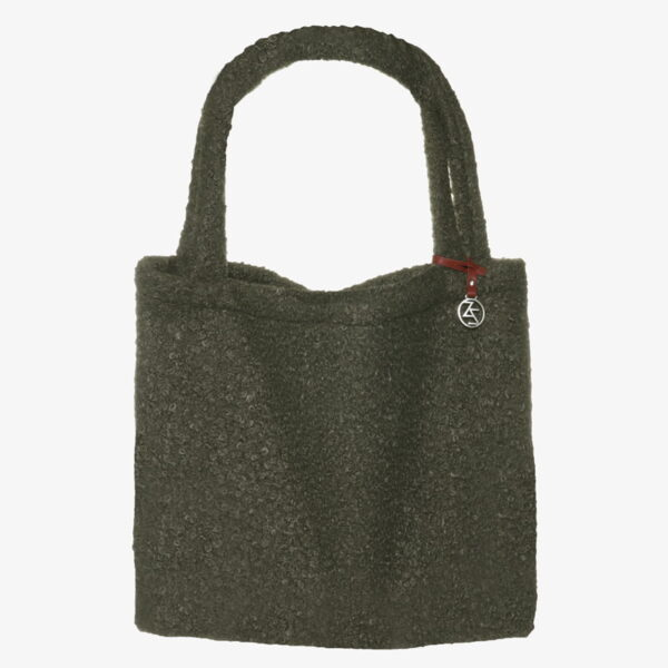 Mom Bag luiertas Easy going Tote Bag boucle Olive