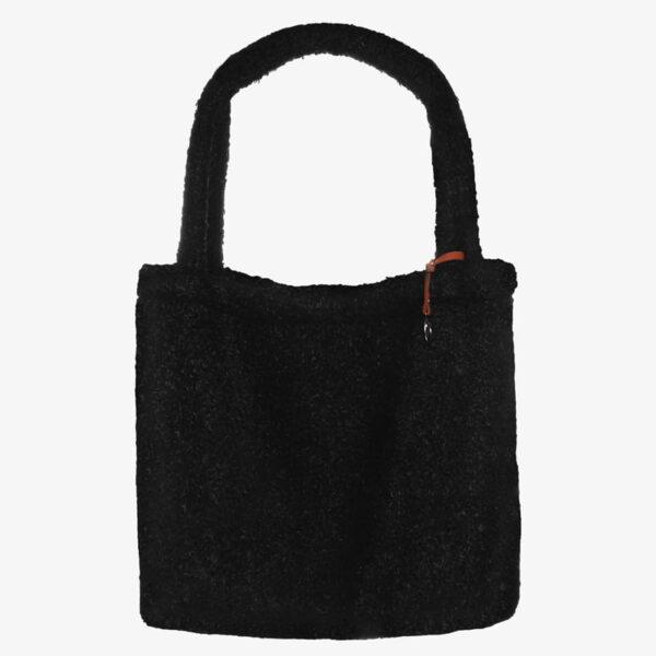 Mom Bag Easy going Tote Bag boucle black
