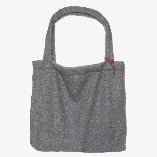 Mom Bag Easy going Tote Bag boucle light grey