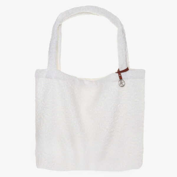 Mom Bag Easy going Tote Bag boucle off White