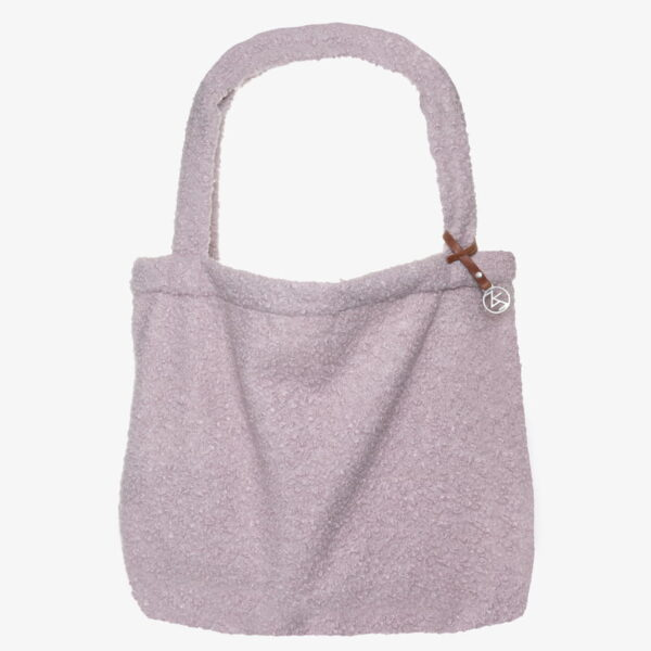Mom Bag Tas Easy going Tote Bag boucle pink