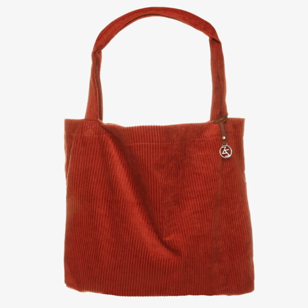 Mom Bag totebag Easy going corduroy Rust