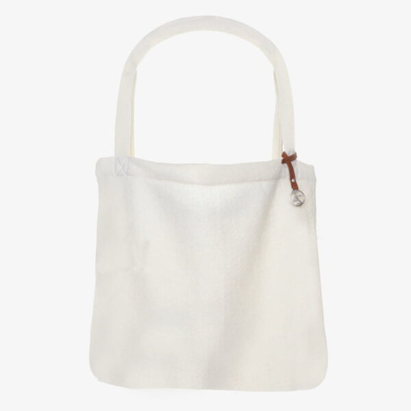 Mom Bag Easy going tote bag wool Creme