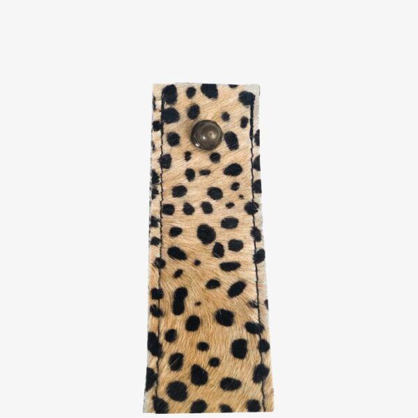 Plankendragers leer baby cheetah beige