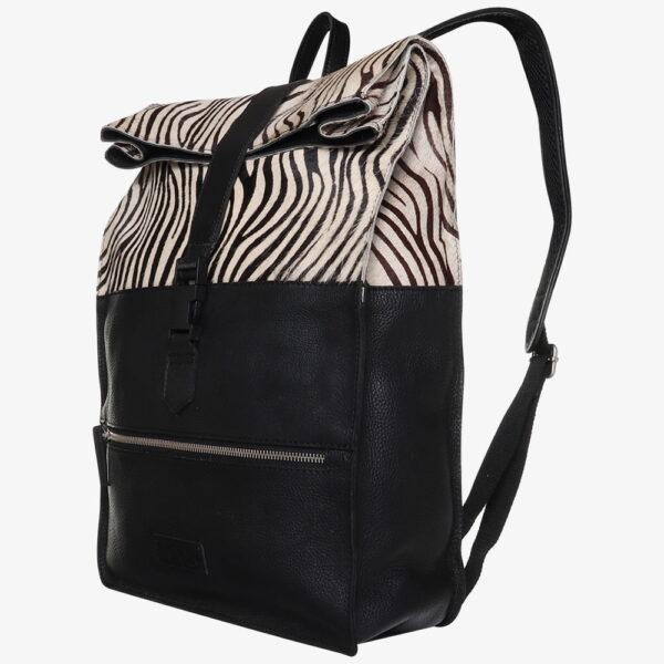 luiertas rugzak zebra