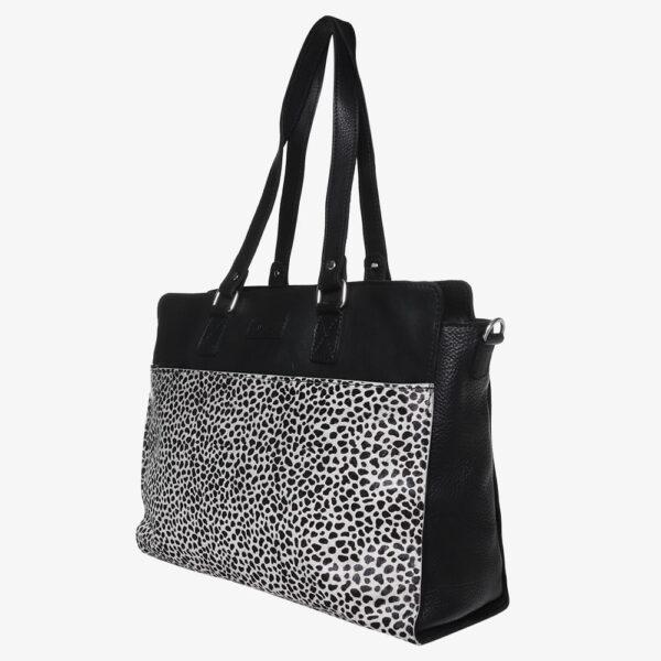 Diaper Bag Black Silver
