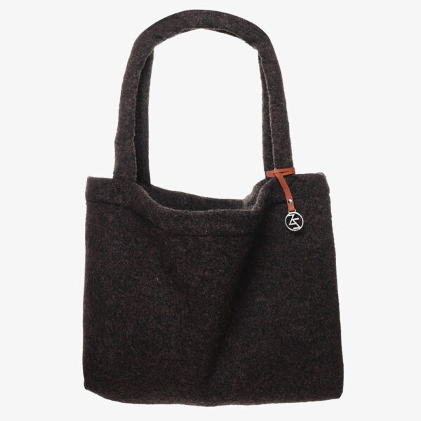 Wollen Mom Bag Bruin Easy Going