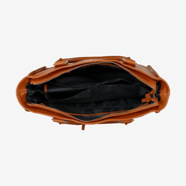 Diaper Bag Cognac Mozz Bags