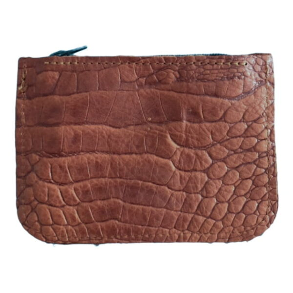 Wallet Cognac Crocodile