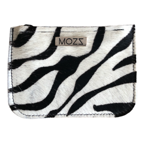 Portemonnee vacht zebra