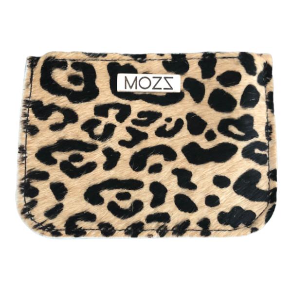 Brieftasche Leder Leopard