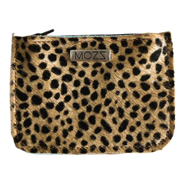 Wallet Baby Cheetah Croco Cognac